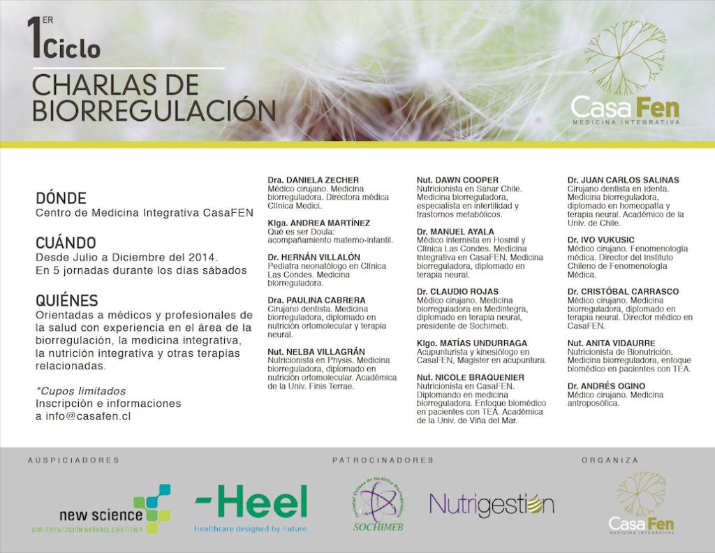 Primer Ciclo Biorregulación CasaFEN expositores